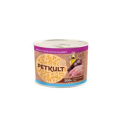 Petkult mini Junior králík 185 g