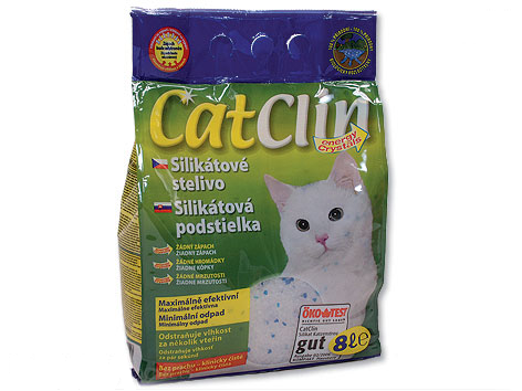 Stelivo gel kočka CatClin 8l