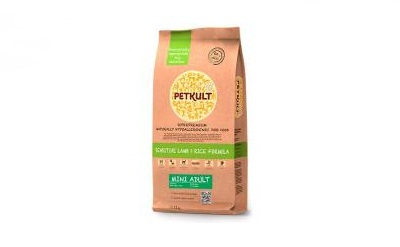PETKULT dog MINI ADULT lamb & rice 12kg