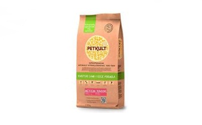 PETKULT dog MEDIUM JUNIOR lamb & rice 12kg