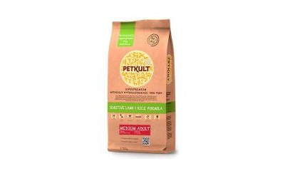 PETKULT dog MEDIUM ADULT lamb & rice 12kg